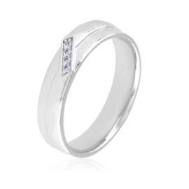 Obrączka z kryształkami Xuping PP3057