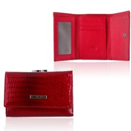 Portfel damski skórzany 55282-RS /0045 RED P1397