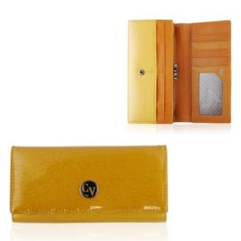 Portfel damski skórzany H24-1 Gold P1407