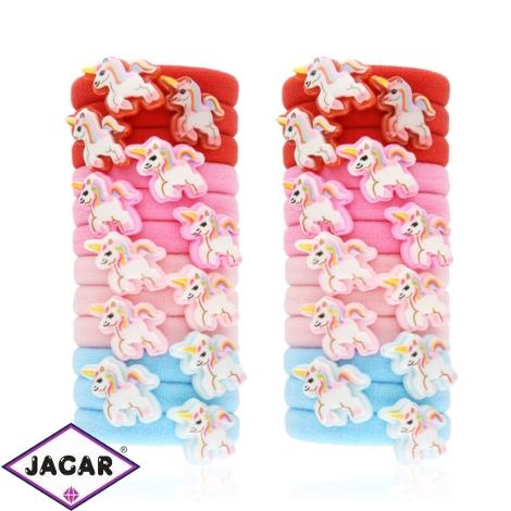 Gumeczki unicorn mix kolorów 24szt/op OG920