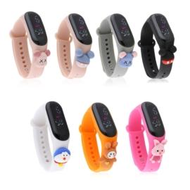 Zegarki LED silikonowe - 10szt mix wzorów Z2246