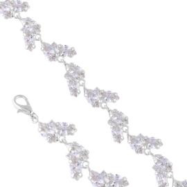 Bransoletka czeskie kryształy B-2023 BRA3343