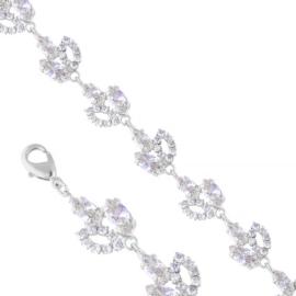 Bransoletka czeskie kryształy B-2002 BRA3347