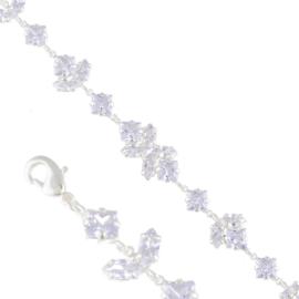 Bransoletka czeskie kryształy B-2005 BRA3350