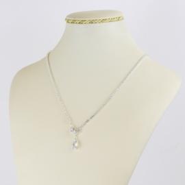 Naszyjnik czeskie kryształy N-2002 NA2138