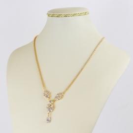 Naszyjnik czeskie kryształy N-2012 NA2143