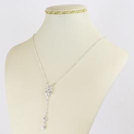 Naszyjnik czeskie kryształy N-2013 NA2148