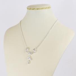Naszyjnik czeskie kryształy N-2023 NA2150