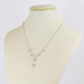 Naszyjnik czeskie kryształy NA2151