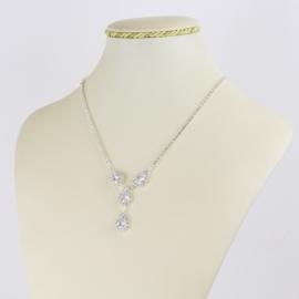 Naszyjnik czeskie kryształy NA2152