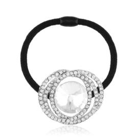 Gumka do włosów z kryształkami OG962