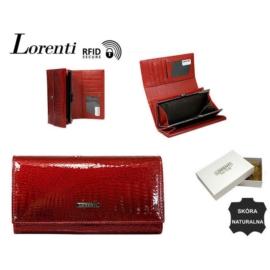Portfel damski skórzany 64003-RS/0076 Red P1411