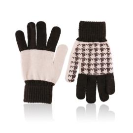 Rękawiczki damskie 21cm R-032 MIX 12 par RK618