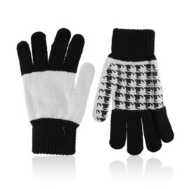 Rękawiczki damskie 21cm R-032 czarny RK619