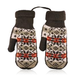 Rękawiczki damskie 23cm R-145RK626