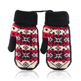 Rękawiczki damskie 23cm R-145RK629