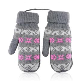 Rękawiczki damskie 23cm R-145RK630