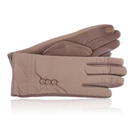 Rękawiczki damskie beżowe RK650