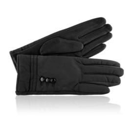 Rękawiczki damskie czarne RK652