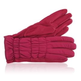 Rękawiczki damskie czerwone RK656