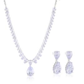 Komplet biżuterii ślubnej Xuping - SKO109