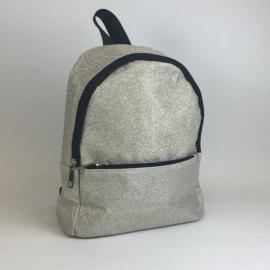 Plecak mały brokatowy - złoty - PL387