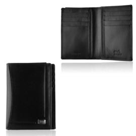 Portfel męski skórzany PC-045-BAR Black P1423
