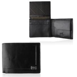 Portfel męski skórzany CPR-023-BAR Black P1427