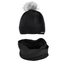 Komplet zimowy czapka komin KZ33