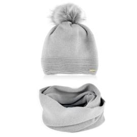Komplet zimowy czapka komin KZ34