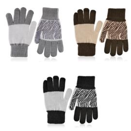 Rękawiczki damskie 12szt RK663