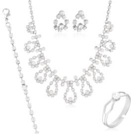 Komplet biżuterii wieczorowej KOM456