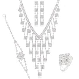 Komplet biżuterii wieczorowej KOM457