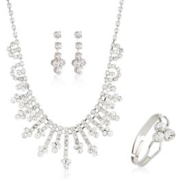 Komplet biżuterii wieczorowej KOM459
