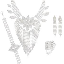 Komplet biżuterii wieczorowej KOM460