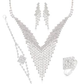 Komplet biżuterii wieczorowej KOM461