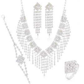 Komplet biżuterii wieczorowej KOM462
