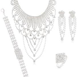 Komplet biżuterii wieczorowej KOM463