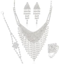Komplet biżuterii wieczorowej KOM464