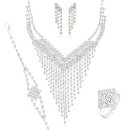 Komplet biżuterii wieczorowej KOM465