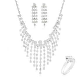 Komplet biżuterii wieczorowej KOM467