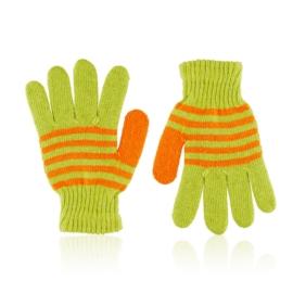 Rękawiczki dziecięce w paski RK668