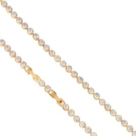Bransoletka z kryształkami Xuping BP8113