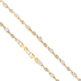 Bransoletka z kryształkami Xuping BP8114