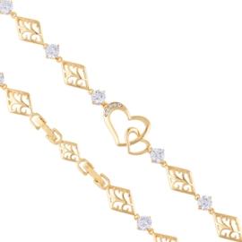 Bransoletka z kryształkami Xuping BP8115