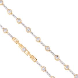 Bransoletka z kryształkami Xuping BP8116