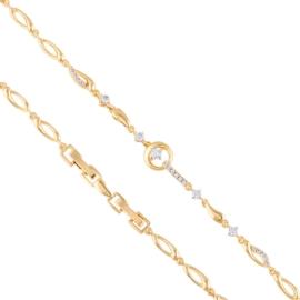 Bransoletka z kryształkami Xuping BP8119