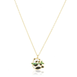 Celebrytka stalowa - panda - Aisadi CP5528