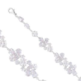 Bransoletka czeskie kryształy B-2013 BRA3378