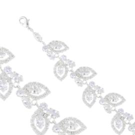 Bransoletka czeskie kryształy B-2027 BRA3385